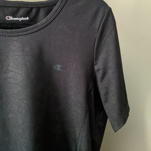 Champion Black Athletic Top